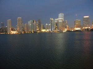 Returning to Miami, 7 am Mar 14, 2013