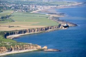 Normandy beach landing site