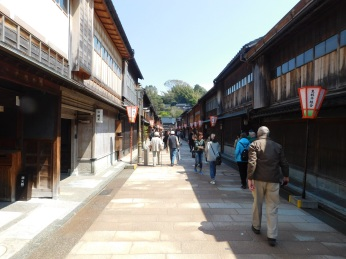 The charming geisha district of Kanazawa