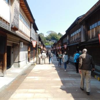 The charming geisha district of Kanazawa