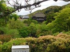 The Kiyomizu-dera temple complex.