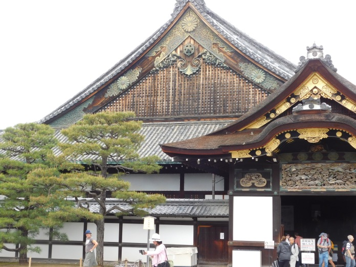 The ancient Sanjusangen-do temple.