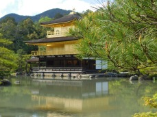 Also known as the Golden Pavilion for its gold leaf decoration.
