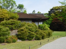 The home of silent film star Okochi Denjiro.