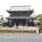 The Higashi=Honganji Temple.