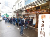 Our group took over much of the tiny restaurant so the wait in line was longer. Sorry.