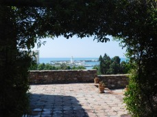 A nice view of the port from the Alcazaba.