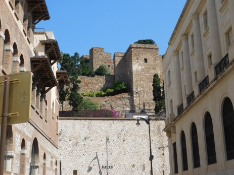 The Alcazaba, an early 11th century Moorish fortress was captured by Ferdinand and Isabela in 1487.