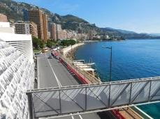 A lovely promenade along Monte Carlo harbor.