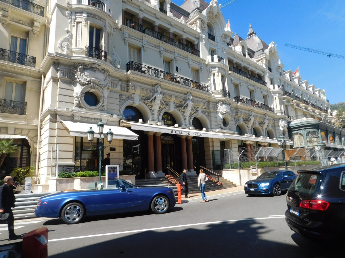 Hollywood has made the Hotel de Paris famous, but no James Bond today.