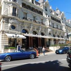 Hollywood has made the Hotel de Paris famous, but no James Bond today.