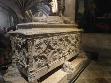 The tomb of Vasco da Gama.