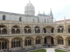 The spectacular 16th century cloister