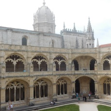 The spectacular 16th century cloister