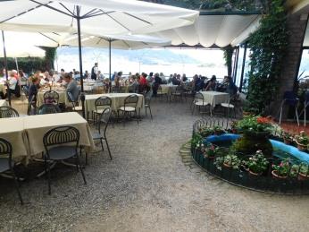 Ristorante Belvedere on Isola Pescatori.