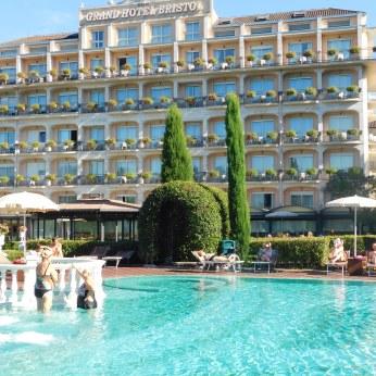 The Gran Hotel Bristo, Stresa.