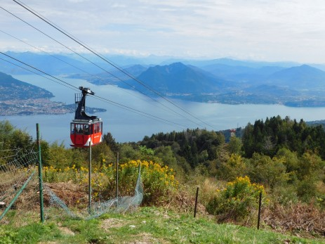 The cable car to Mottorone.