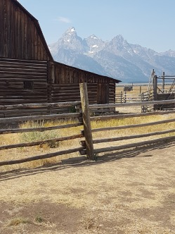 John D. Rockefeller Jr. bought 130 of these Mormon-owned ranches and his donation created a large part of Grand Teton National Park.