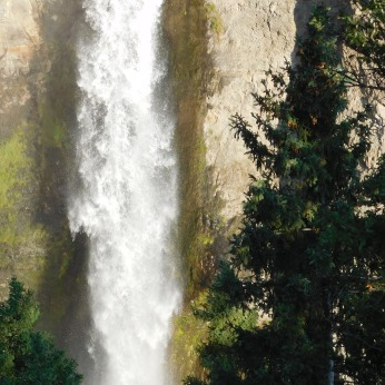 A close-up of the Tower Fall.