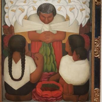 Diego Rivera, Dia de las Flores, 1930.
