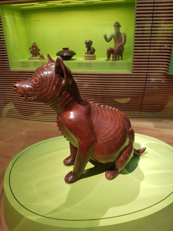 A ceramic dog, Colima Nayarit, Mexico, BCE.