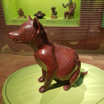 A ceramic dog, Colima Nayarit, Mexico, BCE.