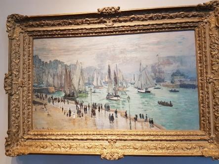 Monet, LeHavre, Fishing Boats.