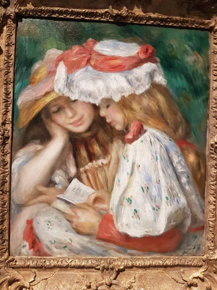 Renoir, Two Girls Reading.