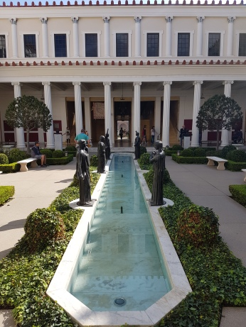 The peristyle garden pool.