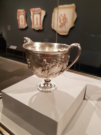Silver cup, 25 BCE.