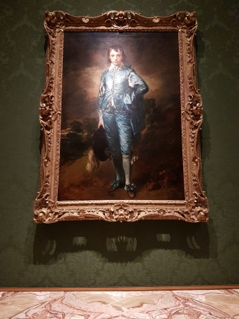 Thomas Gainsborough's The Blue Boy, 1779.