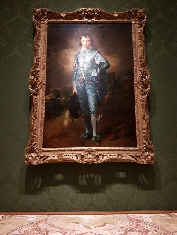 Thomas Gainsborough's The Blue Boy, 1779.