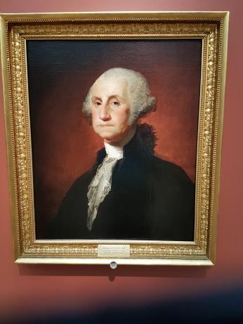 One of many portraits Gilbert Stuart did of George Washington.