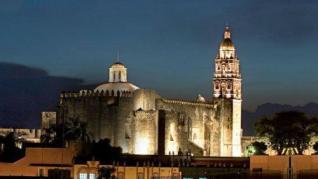 The Cathedral of Cuernavaca.