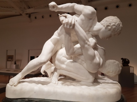 Pietro Bassanti, The Wrestlers, mid-19th century.