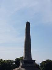 The obelisk to the Duke of Wellington.