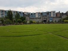 Dublin Castle Garden.