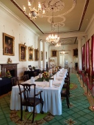 A dining room in the Castle.
