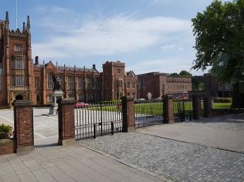 The prestigious Queen's University opened in 1849.