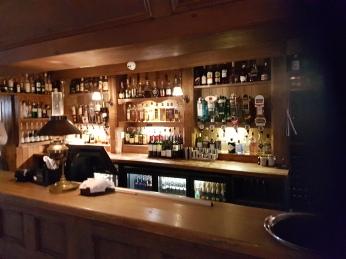 The Bushnmill's Inn bar.