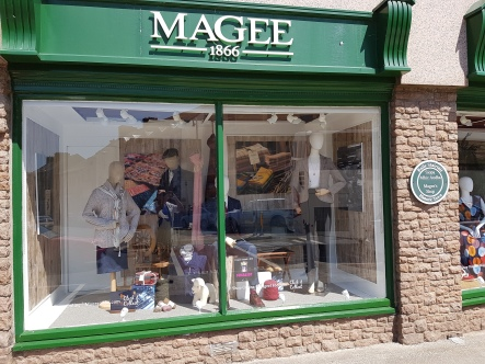 Donegal's most famous store whre I finally bouth a few things.