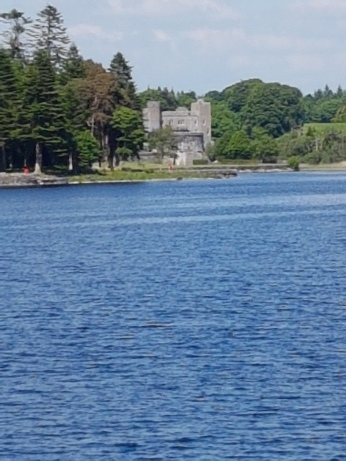 Our first glimpse of Ashford Castle.
