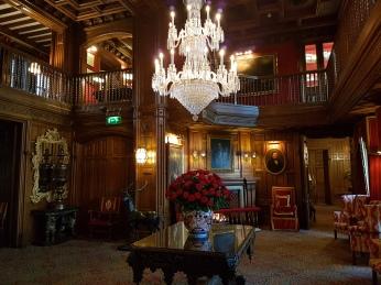 Gaze in awe at the beautiful Oak Hall.
