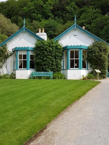 The head-gardener's cottage has been restored.