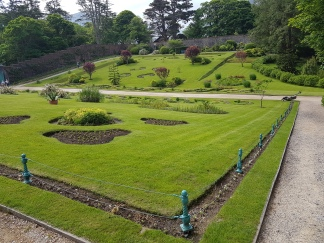 Inside the Victorian Walled Garden at Kylemore Abbey.