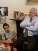 Paddy Fenton narrates the farm's history while grandson Evan endures it again.