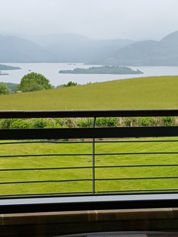 The view of the Kilarney Lakes from my veranda.