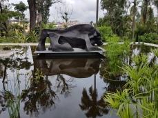 Toro, in the sculpture garden of the Juan Soriano Museum, Cuernavaca.