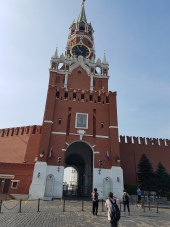 The entrance to the Kremlin, saved for the next day.