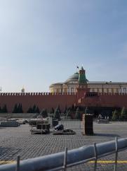 We skipped Lenin's Tomb.